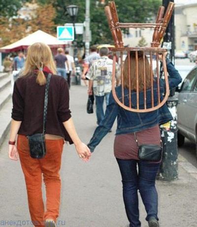 смешной фото прикол с девушкой