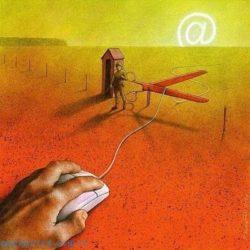Карикатуры на социальные темы