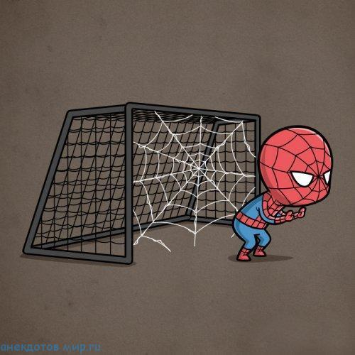 супергерой спортсмен