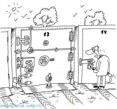 Анекдоты про гараж