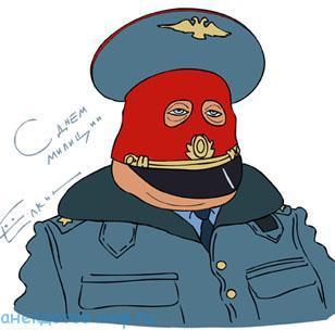 Свежие анекдоты про милицию