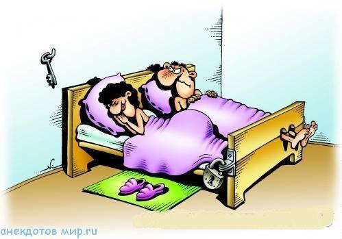 карикатура про жену
