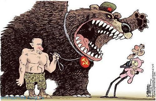 Карикатуры про Россию