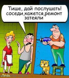 Смешные анекдоты про ремонт