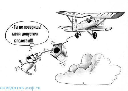 смешной анекдот про авиацию