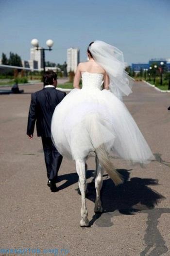 фото прикол про невесту