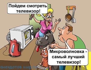 Самые смешные анекдоты про кухню