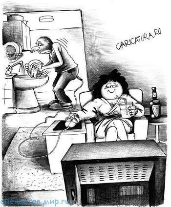 смешной до слез анекдот про посуду