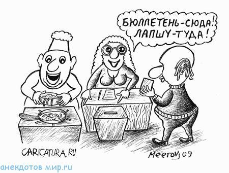 смешной анекдот про выборы