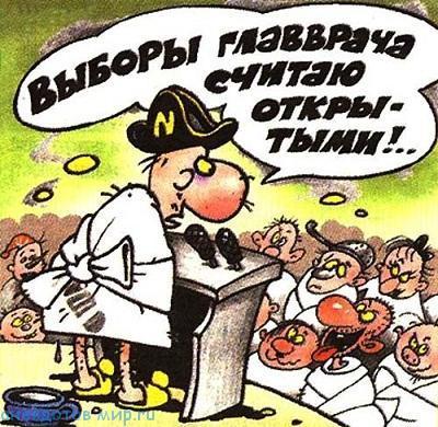 читать бесплатно анекдот про выборы