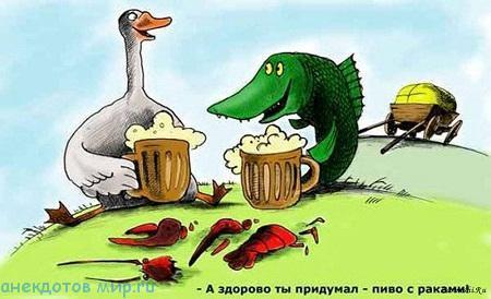 классный анекдот про животных