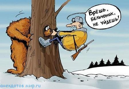 смешной до слез анекдот про медведя