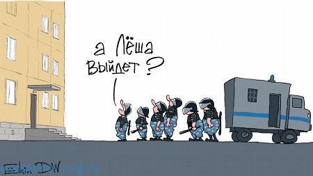 свежий анекдот про навального