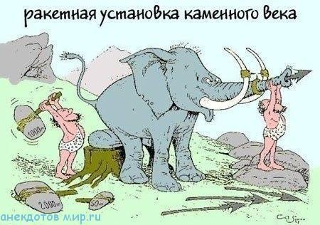 свежий анекдот про слона