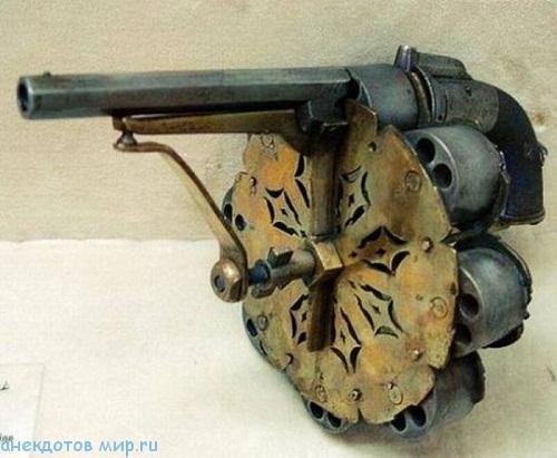 Прикольные фото необычного огнестрельного оружия