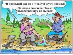 Смешные до слез анекдоты про рыбаков
