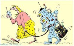 Анекдоты про робота