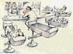 Короткие анекдоты про бар
