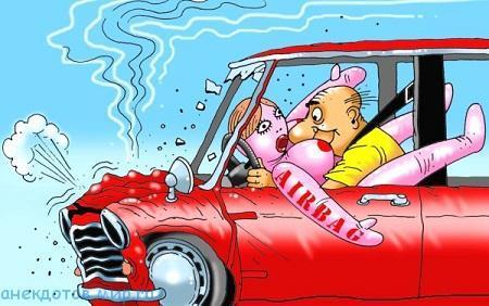 Убойные анекдоты про водителей