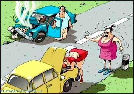 Очень смешные анекдоты про машины