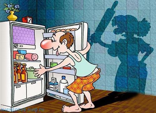Свежие анекдоты в картинках про мужа и жену