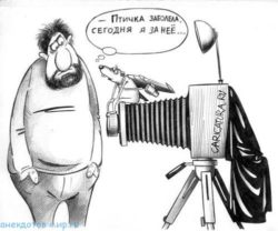 Карикатуры про фотографии