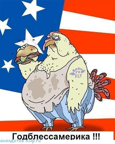 Американские карикатуры