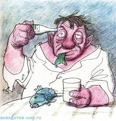 новый анекдот про алкоголь
