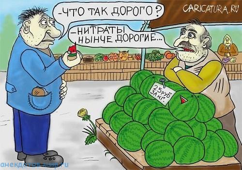 смешной анекдот про арбузы