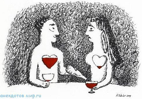 свежий анекдот про вино