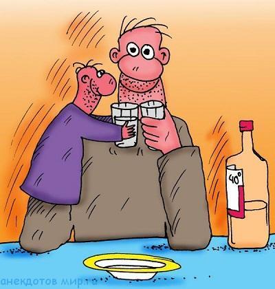 самый смешной анекдот про водку