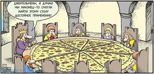 свежий анекдот про еду