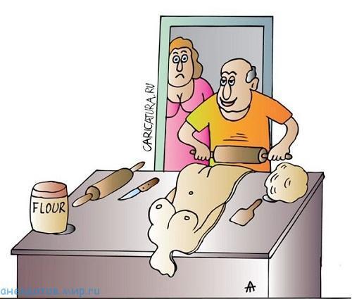 анекдот про пекаря