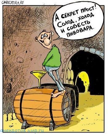 Смешные анекдоты про пиво