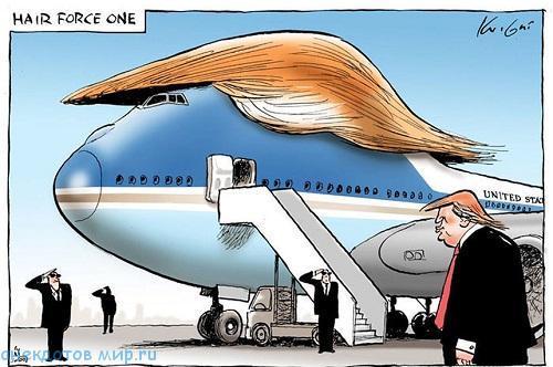 карикатура про трампа