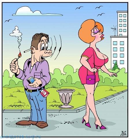 красивая карикатура