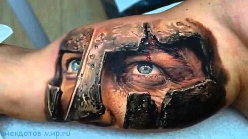 фото с татуировкой