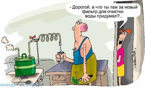 Лучшие анекдоты про воду