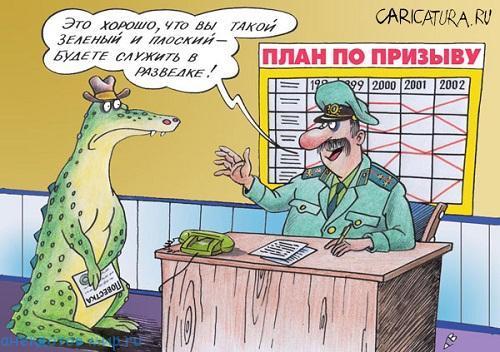 Анекдоты про военкомат