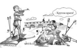 Свежие анекдоты про врагов