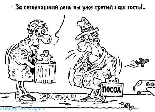 анекдот про делегацию