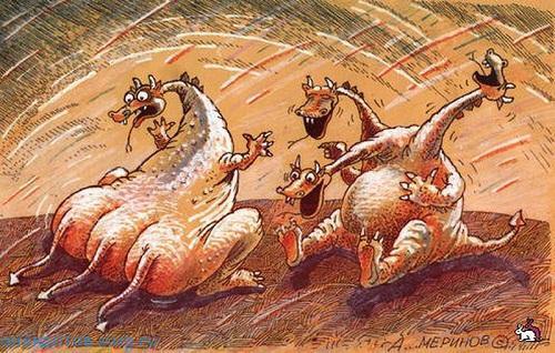 Свежие анекдоты про дракона