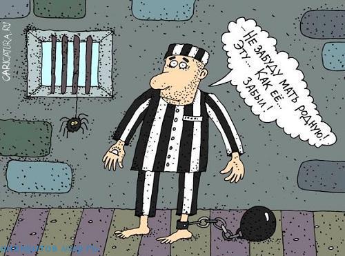 Смешные анекдоты про заключенных