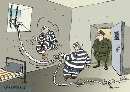 анекдот про заключенных
