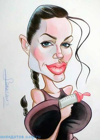 Read more about the article Анекдоты про Анджелину Джоли