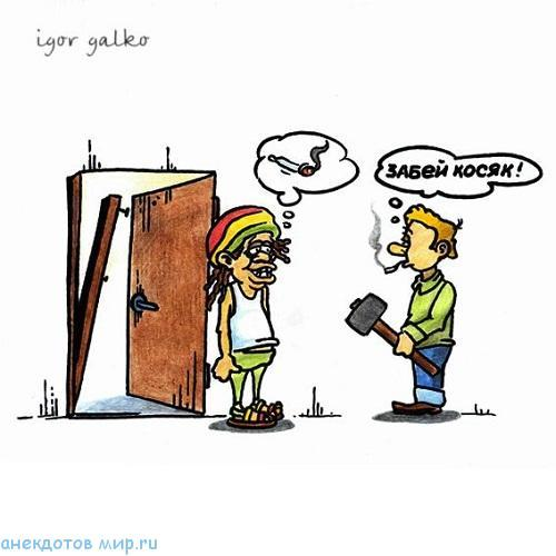 Анекдоты про косяк