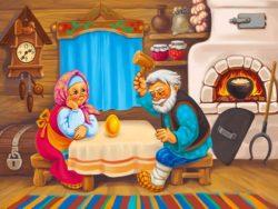 Русская народная сказка «Курочка Ряба» на новый лад