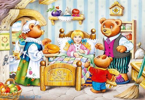 маша и три медведя на новый лад