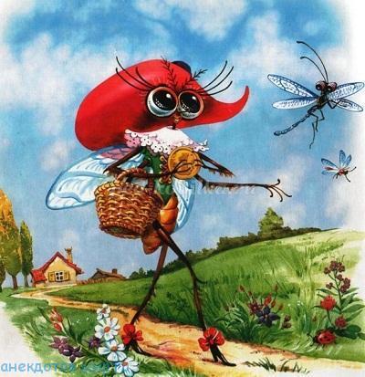 муха-цокотуха на новый лад