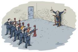 Свежие анекдоты про музыку